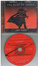 James Horner ‎– The Mask Of Zorro Music From The Motion Picture 14 Tracks CD1998