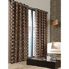 Chenille Floral Curtains & Pelmets