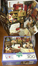 Buffalo CHARLES WYSOCKI MAGGIE THE MESSMAKER PUZZLE 300 pcs CAT SEWING Singer