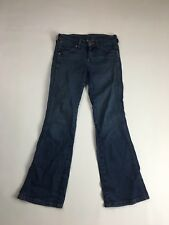 WRANGLER 'EVE' Bootcut Jeans - W27 L30 - Navy Wash - Great Condition