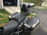 Schwürz vinyl cover for BMW GS & Adv luggage cases. LC model. 3 pcs.