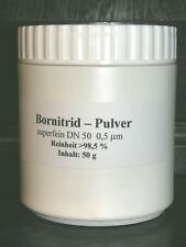 Bornitrid Pulver  hexagonale Kristallstruktur, ultrafein  0,5 µm  50 g