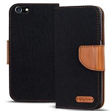 Funda protectora Apple iPhone 4 s funda FLIP CASE celular plegable bolsa funda estuche