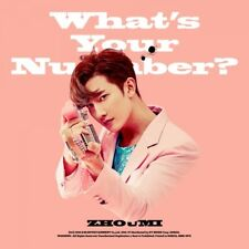 SUPER JUNIOR-M ZHOUMI [WHAT'S YOUR NUMBER?] 2nd Mini Album CD+Photo Book SEALED