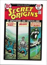 "SECRET ORIGINS #5 [1973 VG+] ""THE SPECTRE"""