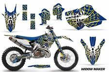 AMR Racing MX Husqvarna TC 125/250 FC 250-450 Graphic Kit Bike Decal 14-15 WIDOW