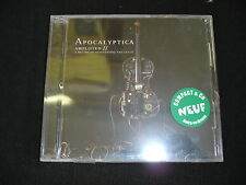 APOCALYPTICA Amplified- A decade of reinventing the cello 2 CD NEUF