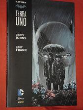 BATMAN- terra uno -VOLUME uno 1-BROSSURATO -:GEOFF JOHNS E FRANK- DC COMICS LION