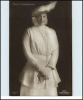 Adel Monarchie ~1910/20 Kronprinzessin mit Hut sehr elegant Verlag G. Liersch