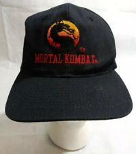 b4fe80e21df5b Mortal Kombat MK Vintage Snapback Hat Cap Promo Video Game Nintendo 1993 90s