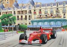 Canvas Print Marlboro Ferrari F-2001 2001 #1 Michael Schumacher Toon Nagtegaal