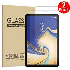 """2X Tempered Glass Guard Screen Protector Samsung Galaxy Tab S4 10.5"""" Tablet T830"""