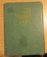 1929 Wallace Memorial High School Yearbook Lebanon Missouri The Magnet