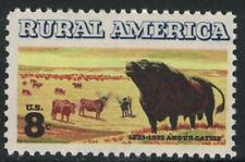 Scott 1504- Rural America, Angus Cattle- MNH 8c 1973- unused mint stamp