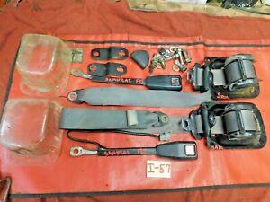 Suzuki Samurai, Front Seat Belts, Complete & Working, Original, !!