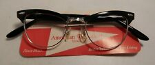 Vintage American Optical Showtime Black 46/20 12K G.F. Eyeglass Frame Nos #362