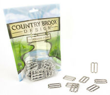 50 - Country Brook Design® 1 Inch Metal Round Triglide Slides