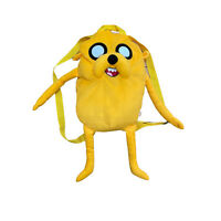Adventure Time Finn Jake The Dog Plush Back Pack Bag Stuffed Toy
