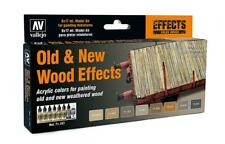 Vallejo 71.187 - Colour Kit,Old/New Effect Wood,8 x 17 ML (14,56 €/ 100ml) - New