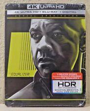 The Equalizer STEELBOOK (4K Ultra HD+Blu-ray+Digital, 2014) NEW>FREE SHIPPING!