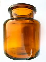 Vintage Apothecary Jar Pharmacy Medicine Chemist Drugstore Bottle Glass Jar