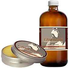 Hand Crafted Caveman® Beard Oil Conditioner + Beard Balm VIRGIN TOBACCO scent