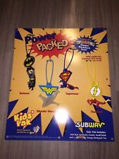 Subway DC Comics 1998 Complete Store Display! Superman Batman Wonder Woman Flash