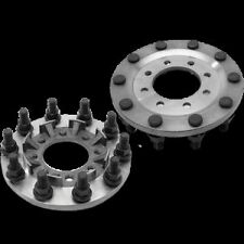 Steel 8 to 10 lug dually wheel adapters Chevy 3500 Dodge Ram 3500 Ford F350/450