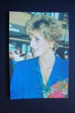 196) DIANA ~ THE PRINCESS OF WALES 1961-1997 ~ DIANA IN BLUE AT NOTTINGHAM 1992