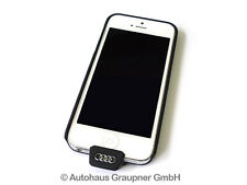 Audi iPhone 5 5S SE Wireless Ladehülle 8W0051435A Qi fähig Cover Schale