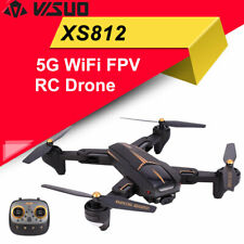 VISUO XS812 2.4G GPS 5G WiFi FPV+5MP HD Camera Altitude Hold Foldable RC Drone