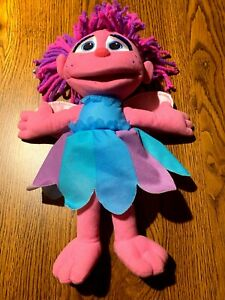 "Talking Abby Cadabby Plush Doll from Sesame Street, Hasbro- 15"" tall. Sings too!"