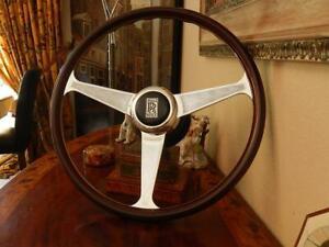 "Rolls Royce Corniche 1971 - 1985 Wood Steering Wheel  Nardi 15"" NEW NOS"