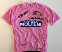 Molteni Eddy Merckx Giro d'Italia Retro Short Sleeve Jersey Large