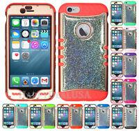 fFor Apple iPhone - KoolKase Hybrid Silicone Cover Case - RG/Glitter 02