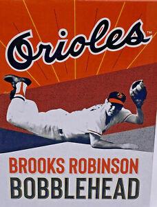 BROOKS ROBINSON BALTIMORE ORIOLES BASEBALL BOBBLEHEAD sga 2019 NEW IN BOX
