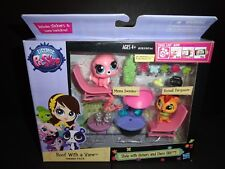 LITTLEST PET SHOP ROOFED WITH A VIEW THEMED PACK NEW