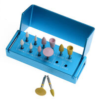 AZDENT Dental RA Bur Zirconia Polishing Kit For Low Speed Contra Angle 12pcs/kit