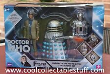 Doctor Who - Enemies of the 1st First Doctor set (Dalek, Roboman, Cyberman)