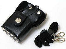 Hard Leather Case For Motorola GP328Plus GP344 GP388