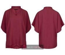 Maglie e camicie da donna a manica corta bluse rossi