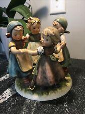 Vintage Goebel Hummel Collectible Figurine Statue 348 Ring around the Rosie 1957
