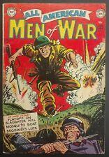 ALL-AMERICAN MEN OF WAR #5 1953 SOLID VG MINUS  4 GREAT STORIES KRIGSTEIN!!