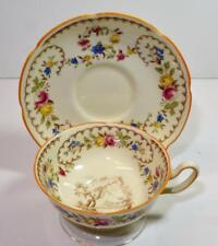 Vintage Royal Doulton Bone China England Light Beaufort #V1630 Set Cup & Saucer