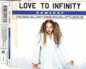Love To Infinity – Someday 6-Track CD Single Subway / CJ Macintosh / Aphrodisia