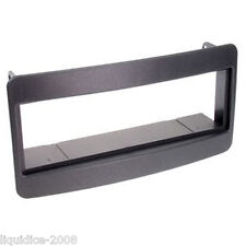 CT24TY01 TOYOTA AVENSIS 2000 to 2002 BLACK SINGLE DIN FASCIA ADAPTER PANEL PLATE