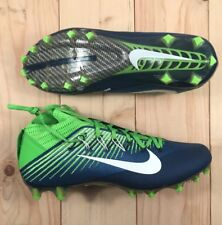 Nike Vapor Untouchable 2 Pf Football Cleats Mens Size 13 Navy/Green