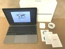 "⭐ Apple Macbook 12"" Core i5 1.3 GHz Mid 2017 8GB Ram 512GB SSD ✅❤️️ Space Gray"
