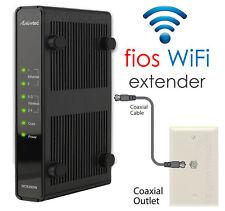 fios Verizon WiFi Extender Wireless Range Repeater Coax Internet Access Point N