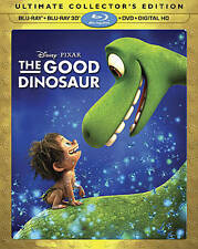 The Good Dinosaur (2D/3D Blu-ray/DVD, 2016, Includes Digital Copy) w/slip, NEW!